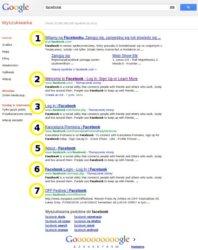 Google ogranicza wyniki wyszukiwania do siedmiu pozycji 1