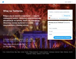Strona główna Twitter.com