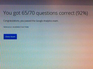 Certyfikat_Marek_Olas_Google_Analytics_wynik