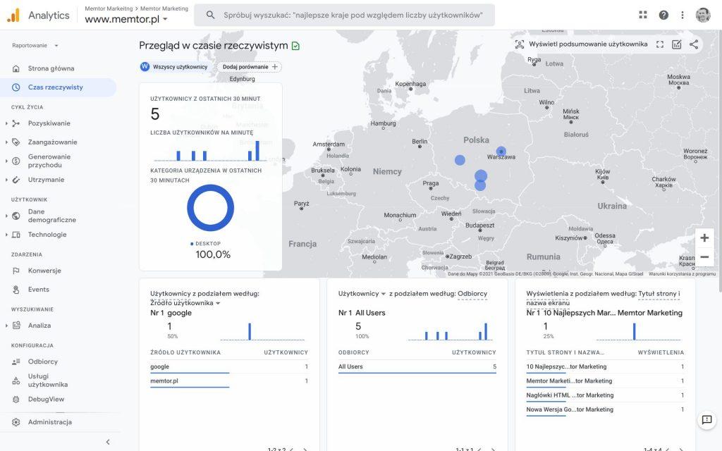 Nowa wersja Google Analytics 4 pod lupą 2