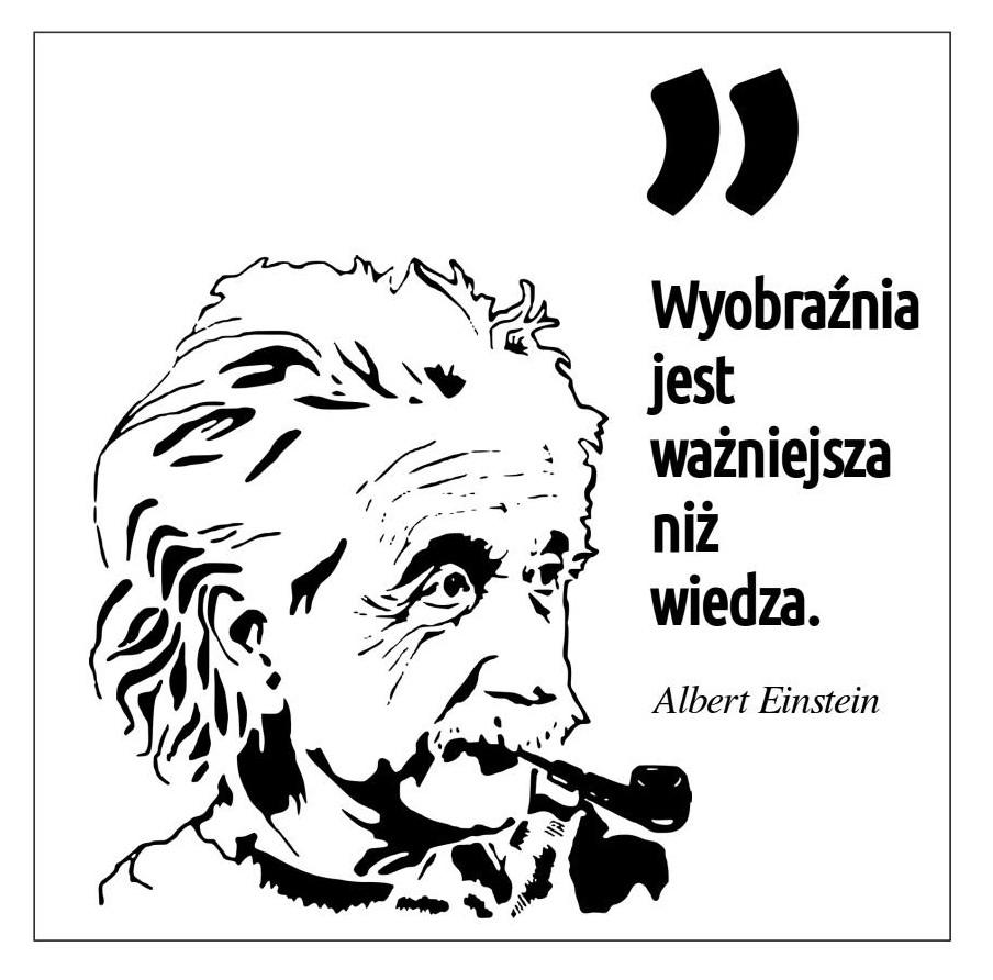 cytat Alberta Einsteina